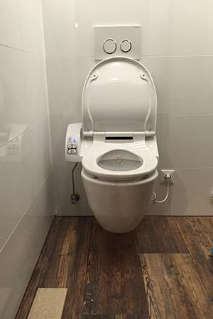 WC nachhher
